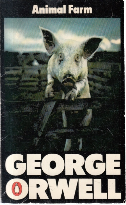 a literary analysis of metaphors in animal farm by george orwell The whole book of animal farm is a metaphor for the russian revolution many of the characters in george orwell's book represent real people animalism is the same idea as communism both were supposed to fix problems, all people and animals were meant to be equal, with no owners, no rich, no poor.