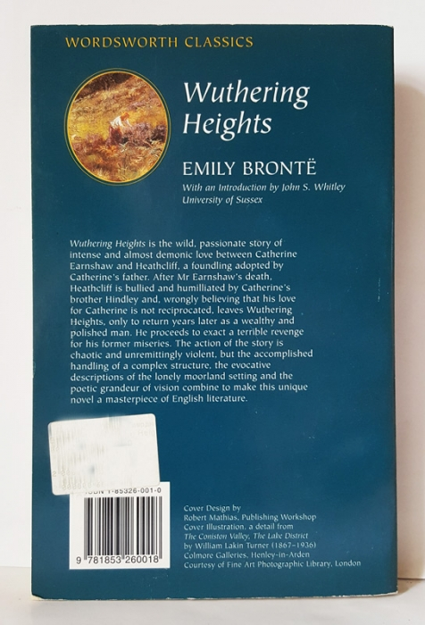 the unique introductory chapter in the victorian novels wuthering heights by emily bronte and tess o Wuthering heights by emily bronte  is considered one of the most unique gothic novels of its passion shocked the victorian public and led to the belief.